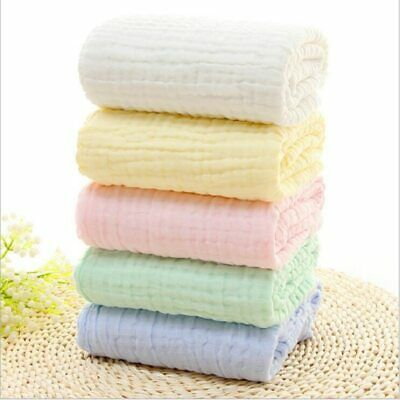 Baby Muslin Blankets Swaddling Six Layer 100% Cotton Swaddle Wrap For Newborn Ba