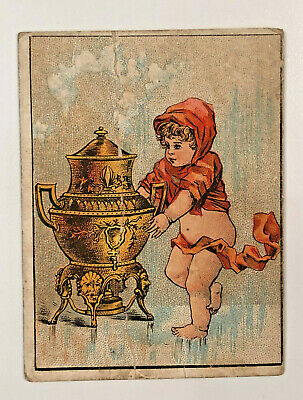 Vintage 1870s Dilworth's Coffee Victorian Trade Card