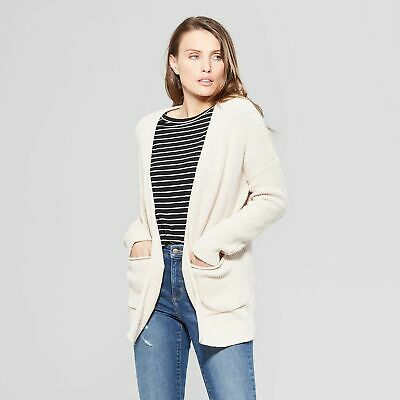 WOMEN'S OPEN LAYERING CARDIGAN By UNIVERSAL THREAD; MED BLUSH BUY 3+ GET 50% OFF