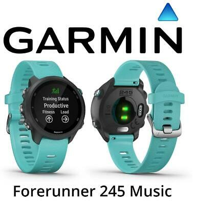Garmin Forerunner 245 Music Aqua GPS Training Running Fitness Smartwatch