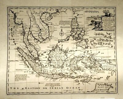 SO- Asien: 'A new and accurate map of the East India Ilands'.London 1747, selten