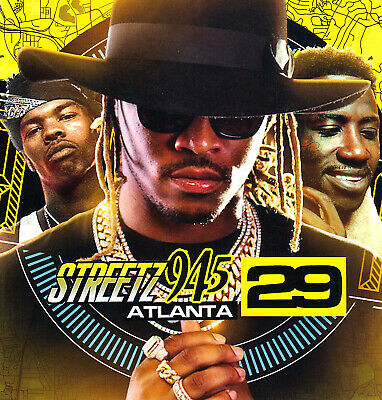 """LIL BABY, FUTURE, TROUBLE, JACQUEES-  """"STREETZ 94.5 v. 29""""  MIX CD. SUMMER 2019"""