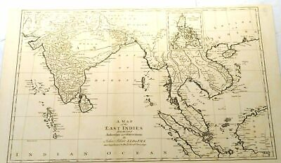 A map of the East Indies by John Blair, London 1768