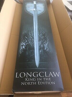 Make Offer Game Of Thrones Valyrian Steel GOT Longclaw Damascus Limited Jon Snow