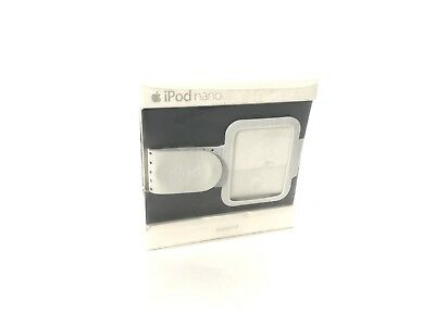 Apple iPod Nano White Workout Fitness Arm Band 3rd Generation • New Open Box