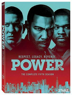 Power Season 5 dvd Brand New Sealed 1st Class Delivery