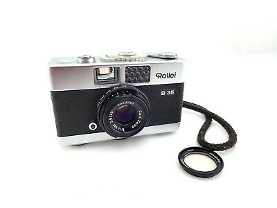 """Rollei B35 Silver with Zeiss Triotar 40mm for / 3,5 """" Made in Germany """" #5340757"""
