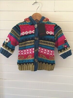 Catimini (French brand) Thick Knit Jacket - BNWT - Size 6 months (#D1819)