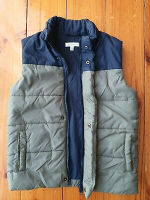 Boys size 7 'Witchery' puffer vest