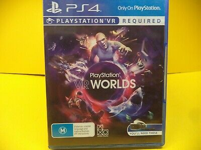 Playstation Vr Worlds Sony Ps4 Game