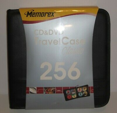 Memorex TravelCase Active 256 CD & DVD Wallet Case - Never used, free shipping!