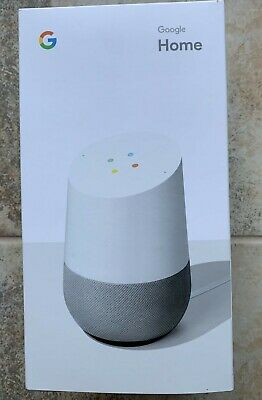 ➡ Google Home Personal Smart Assistant Wireless Speaker (White/Slate) SEALED