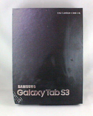 SAMSUNG TAB S3 SM-T825Y, 32GB, Wi-Fi + 4G, 9.7in - BLACK TABLET - NEW NEVER USED