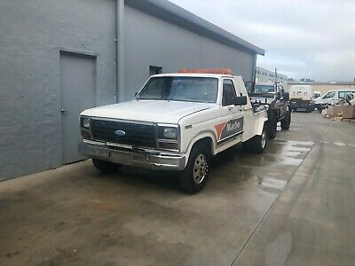 ford f350 bronco tow truck cradle lift