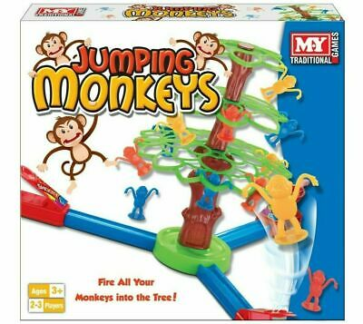 M.y Jumping Monkeys Traditional Indoor Kids Family Fun Activity Board -