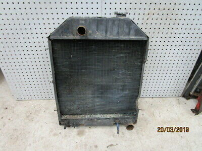 Ford 5610, 6610, 7610 Radiator with Engine Oil Cooler in Good Condition