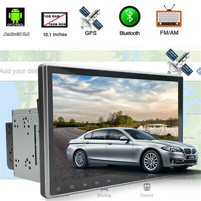 "Android 9.1 10.1"" Touchscreen Auto Stereo Radio GPS Player 2Din 12V Universal"