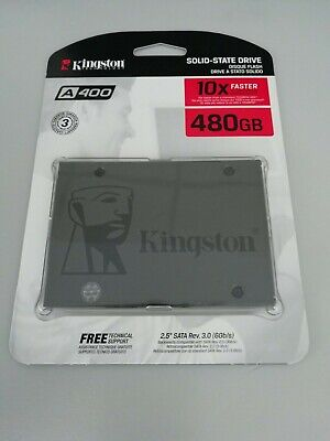 Kingston A400 480 GB,Internal,2.5 inch (SA400S37480G) Solid State Drive