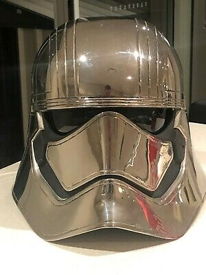 Star Wars Captain Phasma Helmet Life Size from The Force Awakens/The Last Jedi