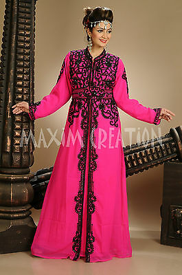 Royal Swedish Maghribi Caftan Genie Fancy Costume For Cocktail Party Gown 4704