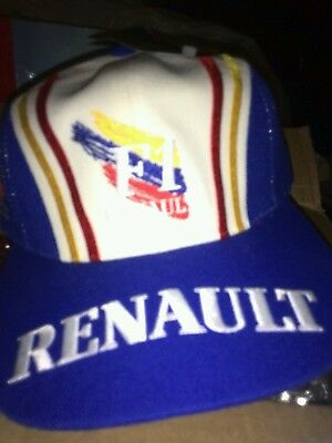 F1 formula one renault baseball cap hat 100% official