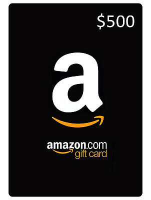 !!LIMITED TIME LISTING $498.72 Amazon Gift Card Voucher Genuine Sale