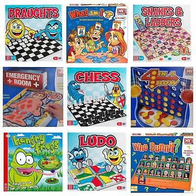 Traditional Classic Board Games Modern Full Size Fun Family Kids Children Gift