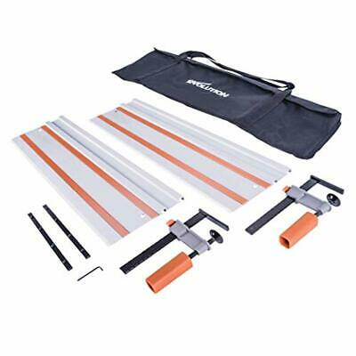 Evolution Power Tools ST1400 Track/Guide Rail For Circular Saws (Clamps and Carr