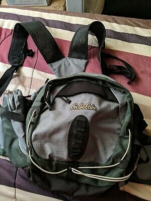 New Cabela's Extra large Anglers Backpack food & drink storage