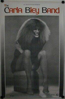 Affiche Concert THE CARLA BLEY BAND Années '80