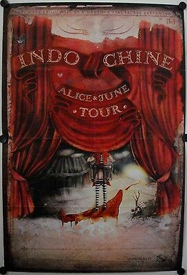 Affiche Concert INDOCHINE 2007 Alice & June Tour