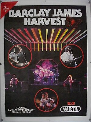 Affiche Concert BARCLAY JAMES HARVEST - 120 x 160 cm