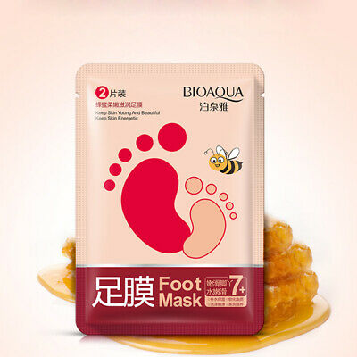 Smooth Foot Mask Exfoliating Peel Soft Remove Dead Skin Comfortable 2Pcs/Pack