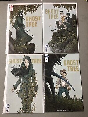 GHOST TREE #1 Variant  #2, #3 - IDW PUBLISHING - Bobby Curnow  -  NM+