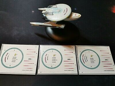 Star Trek Starships EAGLEMOSS CURRY CLASS Choice of Registries - DECALS ONLY