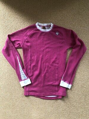 Girls Pink Helly Hansen Long Sleeve Thermal Sports Under Top / T-shirt 12 Years