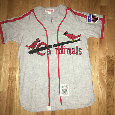 d21a11c1 1942 St. Louis Cardinals Stan Musial Road Jersey Mitchell & Ness Wool NEW