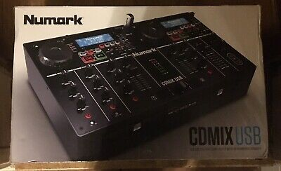 Numark - CDMix USB - Dual CD/usb Media Player with Backlit LCD and Aux Input