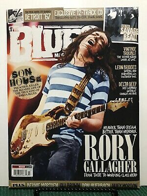 The Blues Magazine Rory Gallagher Son House Free CD Issue 23 FREE SHIPPING JB