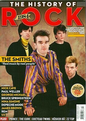 1984 Morrissey The Smiths cover The History Of Rock magazine issue #20
