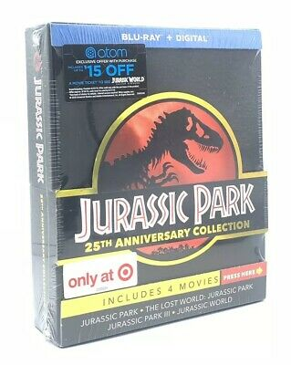 Jurassic Park: 25th Anniversary Collection (Blu-ray+Digital, 2018; Only at 🎯)