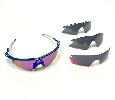 41655dee2b7a NEW OAKLEY M Frame sunglasses Black Clear AUTHENTIC 11-161 Safety ...