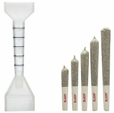 RAW 1 1/4 Pre-Rolled Cone Filler and Loader w/Measuring Guide Includes packNpuff