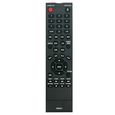 Replacement Remote for MAGNAVOX 32MF339BF7 32MF369BF7 42MF439B