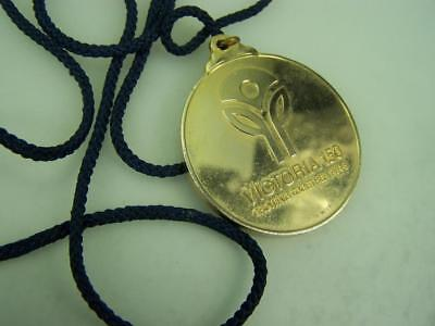 "1984 medal medallion Victoria 150 years ""Growing together""                  3407"