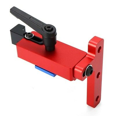 Machifit 45 Type Alluminio Lega Mitra Track Stop For 45mm T-Track Woodworking