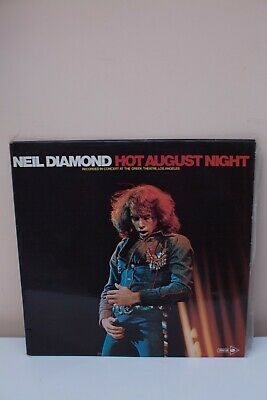 """Neil Diamond"" Hot August Night, MCA Records, Great Condition, Perfect Bargain!"
