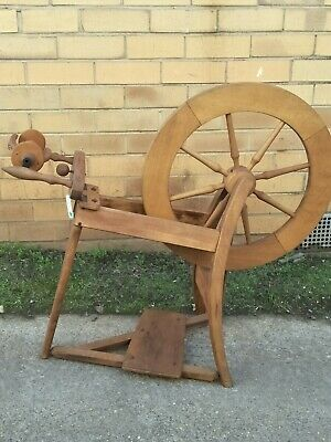 Original Vintage Ashford Traditional Spinning Wheel Natural (Not Laquered)