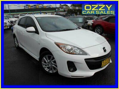 2012 Mazda 3 BL 11 Upgrade Maxx Sport White Automatic 5sp A Hatchback