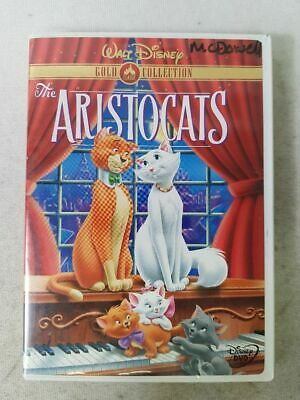 The Aristocats Disney Gold Classic Collection Region 1 DVD